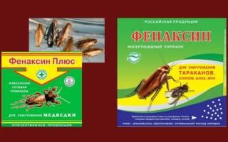 Порошок от тараканов фенаксин