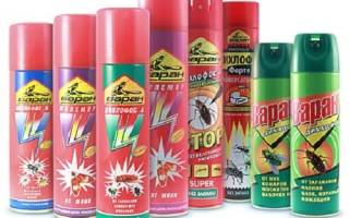 Дихлофос помогает ли от тараканов