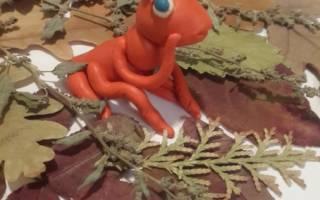 Как из пластилина сделать муравья